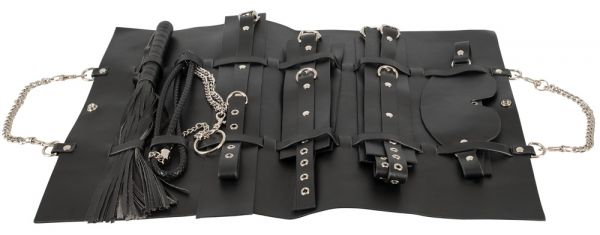 Borsa Fetish con Accessori Bondage