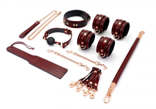 Master Set 7 Pz - Wine Red