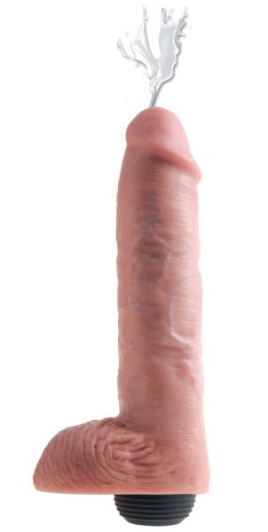 """11"""" Squirting Cock with Balls"""