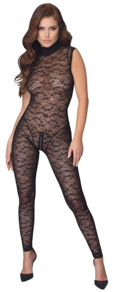 Catsuit intera in Pizzo